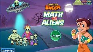 Chotta Bheem Maths vs Aliens Android GamePlay Trailer (1080p)