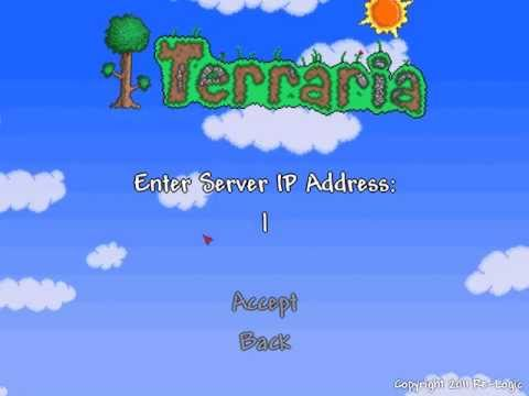 Terraria Multiplayer servers (Listed Server Info)