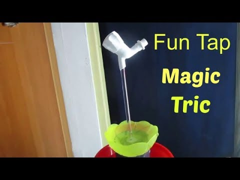 Magic Tap - How to make a Magic Tap Fountain at home