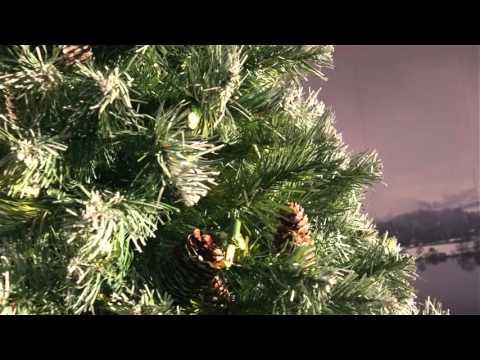 National Tree Lakeland Spruce 7 ft Pre lit Slim