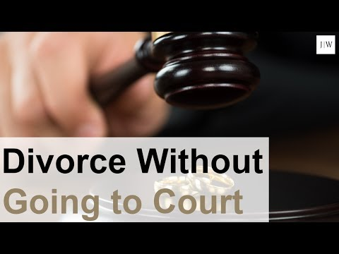 Can I Complete my Divorce Without a Trial?