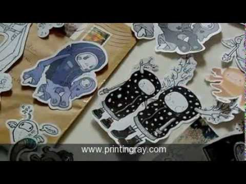 Bumper Stickers - Custom Stickers Printing by printingray.com