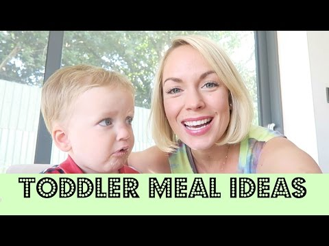 TODDLER MEAL IDEAS | EMILY NORRIS