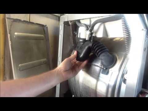 Miele W1712 Leaking