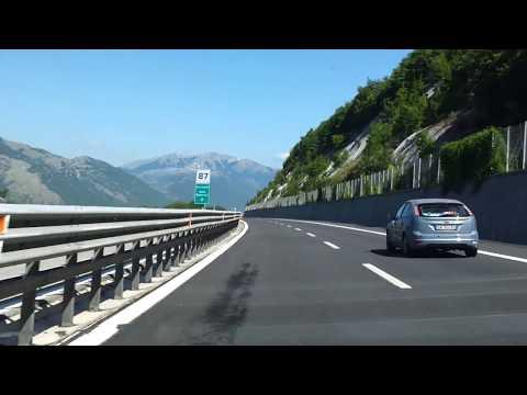 Milan 2 Pisa driving