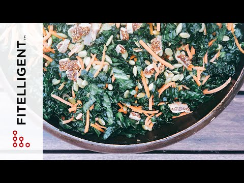 The Perfect Kale Salad for a Potluck