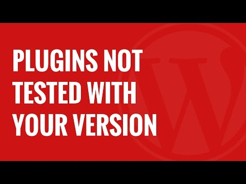 Should You Install Plugins Not Tested With Your WordPress Version