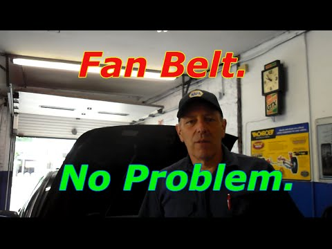 How to replace the fan belt on a 2006 Honda Accord