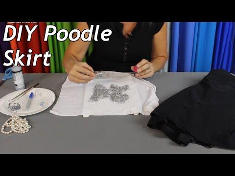 Diy Poodle Skirt