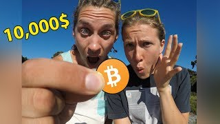WE FOUND A BITCOIN IN NEW ZEALAND! (10000$)