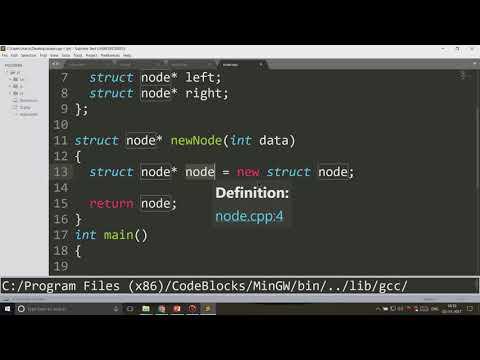 Binary Tree Code in C++