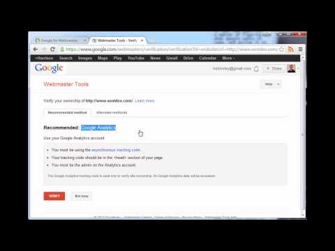 Submitting a sitemap and getting your site indexed - Search Engine Optimization Tutorial part 2