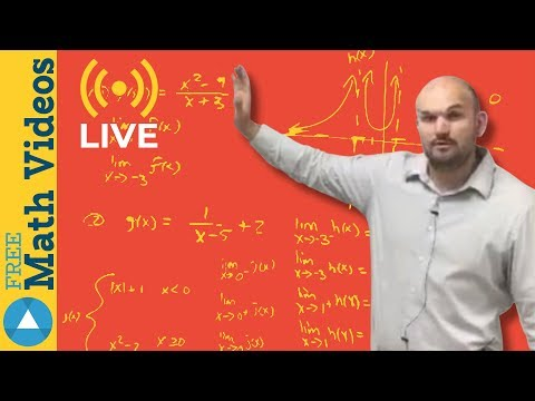 Learn about Limits from a graph - Live