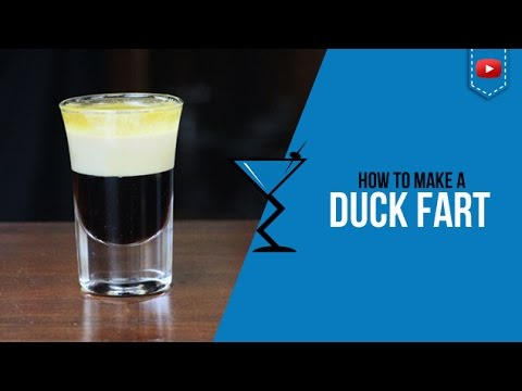 Duck Fart Shot - How to make a Cocktail Recipe by Drink Lab (Popular)