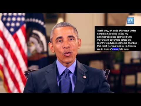 President Obama -  video caption- June 20th, 2015 - New Pathways of Opportunity