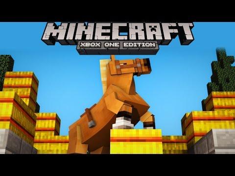 Minecraft Xbox - OUR FIRST HORSE! Horse Farm Time! Minecraft Survival #8 (Minecraft Gameplay)
