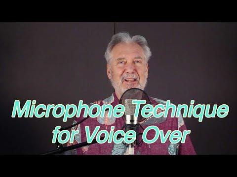 Secret Microphone Technique for Voice Over