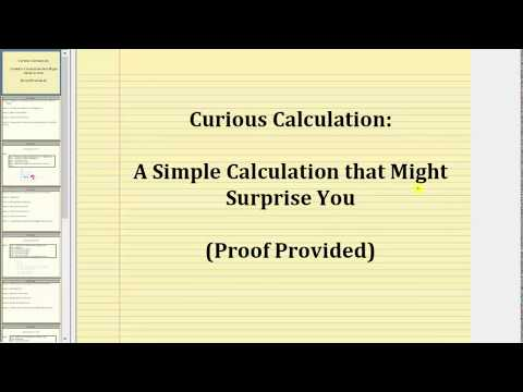 Curious Calculation: Result is Always 8 (Proof Included)