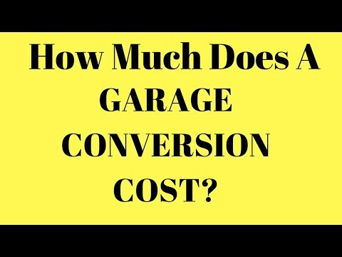 garage conversion cost   how much does it cost for a garage conversion renovation project