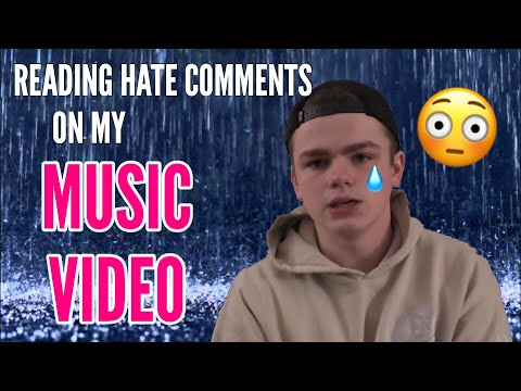 READING HATE COMMENTS ON MY MUSIC VIDEO! (People are mean..)