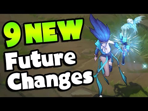9 NEW Future Changes Coming To League of Legends (Midseason Update Leaks!)