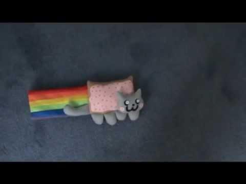 Nyan the Poptart Cat Handmade Plush
