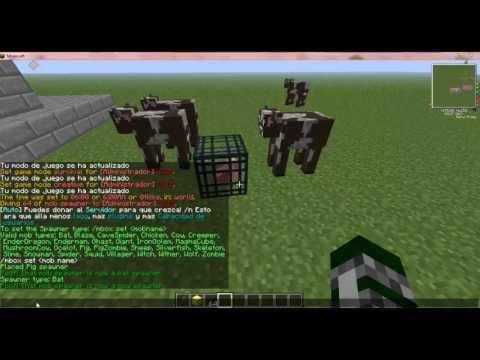 Como poner Spawn en un servidor mi minecraft de diferentes mobs
