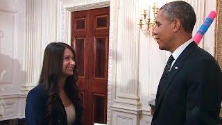 President Obama Tours the 2014 White House Science Fair