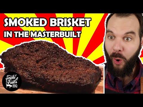 How to Make Smoked Brisket (Masterbuilt Electric Smoker)