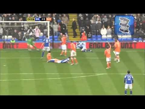 Bcfc Vs Blackpool Highlights 2010 HD (2:0)