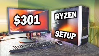 Download The USED AMD Gaming PC - $301 Ryzen 5 1400 + RX 580 Setup Video