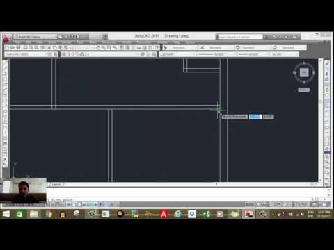 Draw home plan in AUTOCAD in HINDI part -1 by Parag Pal