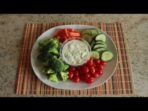 Healthy Snack #3: Cucumber Yogurt Dip