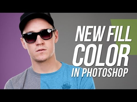 Adobe Photoshop CS5 Tutorial - Changing Colour