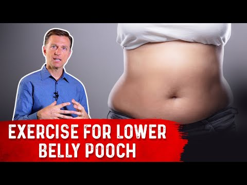 How to Get Rid of Your Lower Belly Pooch (Reverse Sit-ups)