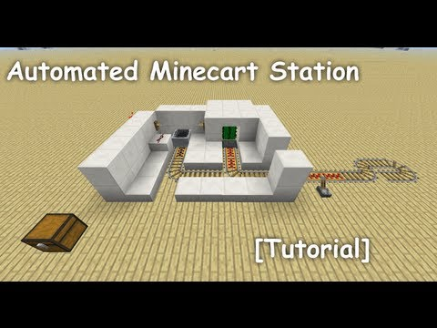Automated Minecart Station [Tutorial]