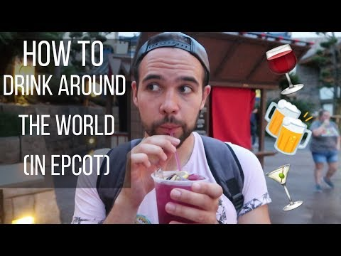 HOW TO Drink Around the WORLD (in Epcot) | Peter Christian