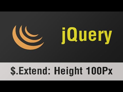 jQuery Arabic Tutorials - $.Extend, Element With Height More Than 100 Pixels