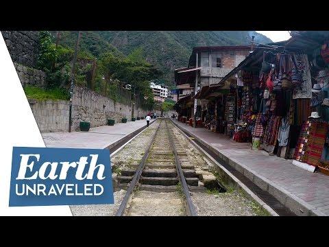 Goodbye Machu Picchu! Tour Aguas Calientes and train to Cusco 🚆 - Machu Picchu, Peru🇵🇪