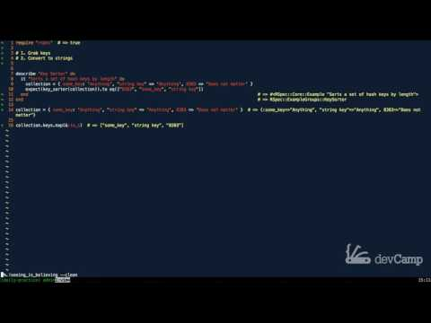How to Sort the Keys of a Hash in Ruby