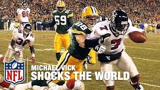 Michael Vick Shocks The World With The Falcons Mike Vick A Football L