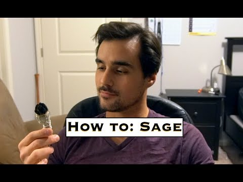 SAGE - SMUDGING WITH SAGE EXPERIENCE