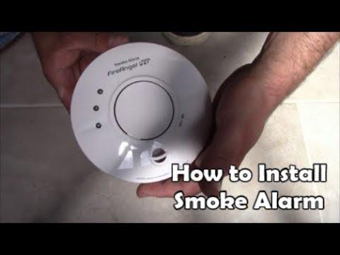 How to install mains powered smoke alarms Wiring Smoke Alarm Fire Angel Pro