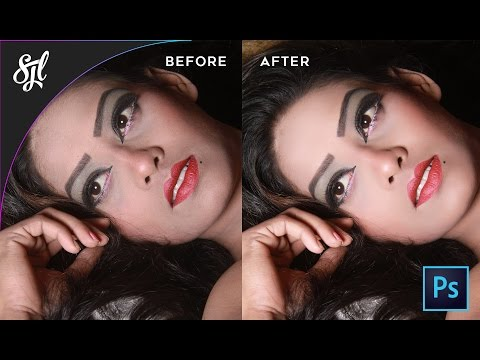 How to retouch face perfectly with Photoshop (Portraiture plugin)