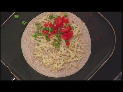 Mass Appeal Smokey Bacon Chicken Quesadillas and Taco Salad