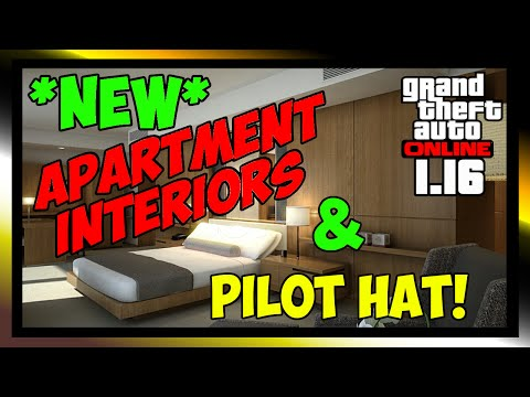 GTA 5 ONLINE 1.16 FLIGHT SCHOOL DLC - *NEW* HAT & INTERIOR (GTA V ONLINE)