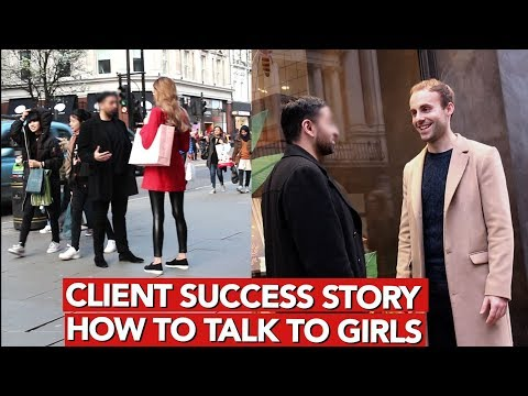 How to talk to girls? Client Success Story