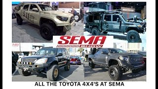 All the Toyota 4x4