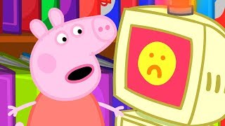 Peppa Pig English Episodes | Peppa Pig at the Library | Peppa Pig Official