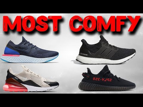 Top 10 Most Comfortable Shoes 2018!